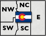 Colorado Regional Area Map