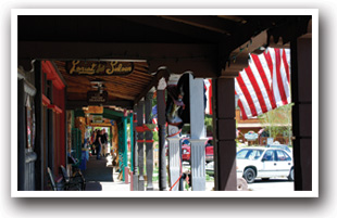 Shops at Grand Lake's historic downtown, Colorado, Colorado Vacation Directory