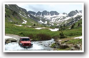 Jeeping Near Lake City, Colorado Vacation Directory