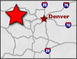 Colorado Local Areas Map