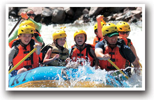 Rafting the Arkansas River in Colorado