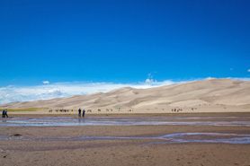 The Great Sand Dunes National Park and Preserve, Colorado, Photo by Michael Hartzog
