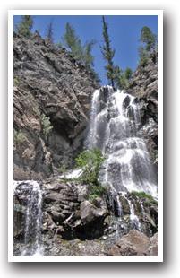 Pagosa Springs Hiking Trails Map Colorado Vacation Directory - Colorado waterfalls map