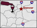 Colorado Wine Tours Map