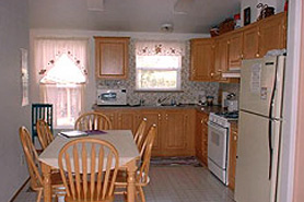 Kitchen at Melody Lodge Cabins, The Colorado Vacation Directory