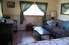 interior of a Melody Lodge Cabin, The Colorado Vacation Directory
