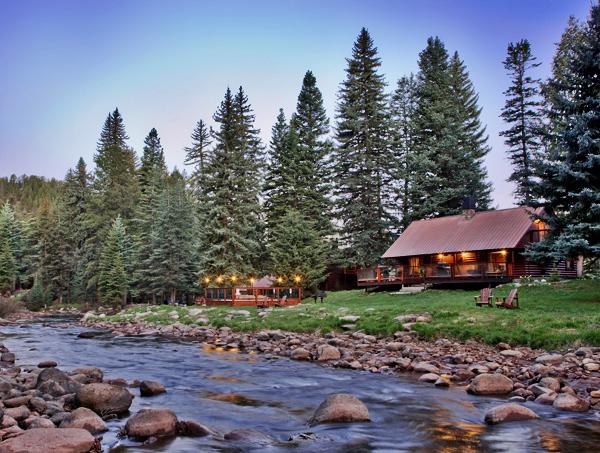O bar o cabins along the florida river durango south for Ski cabins in colorado