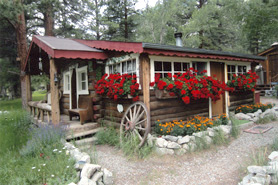 Connie's Mountain Orchid cabins near Buena Vista, Colorado