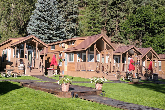 Mountain Deluxe Cabins at Pagosa Springs RV Park, Colorado