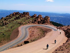 Bikes Colorado Springs Pikes Peak by mountain Bike