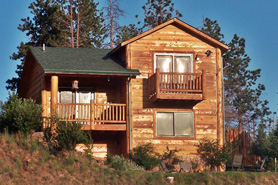 Elk Ridge Cabin 2 Bedrooms at the Pikes Peak Resort in the Pikes Peak area of Colorado