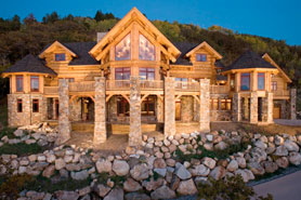 Luxury mountain home rentals at Pioneer Ridge in Steamboat Springs, Colorado