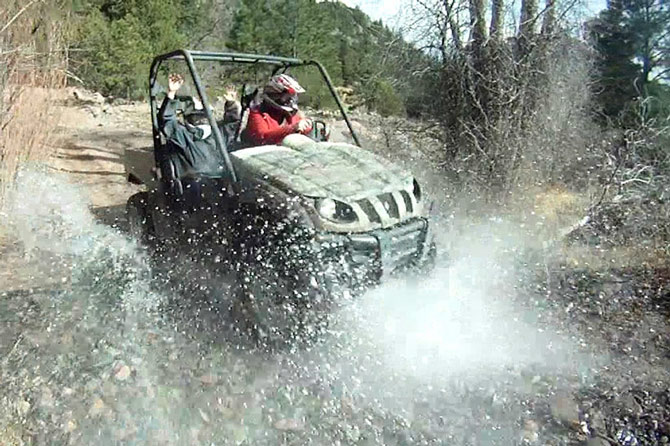 Play Dirty ATV Tours near near Royal Gorge and Colorado Springs, Colorado