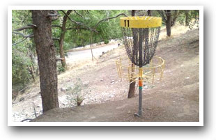 A City Park Disc Golf Course in Pueblo, Colorado