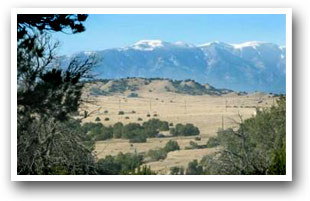 Wet Mountain view near Pueblo, CO, Colorado Vacation Directory