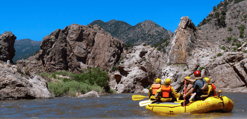 Rafting with Royal Gorge Rafting on the Arkansas River near Canon City, Colorado