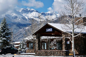 The lodge at Ouray Lodge & Suites in Ouray Colorado