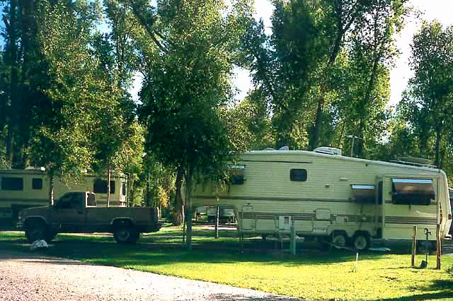 Camping at Rio Chama RV Park, Chama, New Mexico