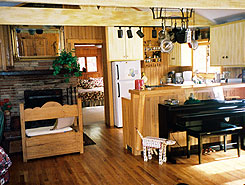 Riverbend Retreat Kitchen, Colorado, The Colorado Vacation Directory