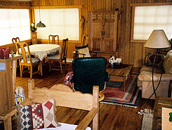 Riverbend Retreat Living Room, Colorado, The Colorado Vacation Directory