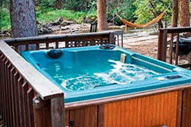 Awe Inspiring Hideout Cabins Pet Friendly Hot Tubs Allenspark North Home Interior And Landscaping Ferensignezvosmurscom