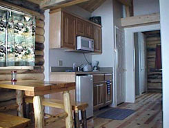 Inside of River of Life cabins at Muddy Creek, Colorado - The Colorado Vacation Directory