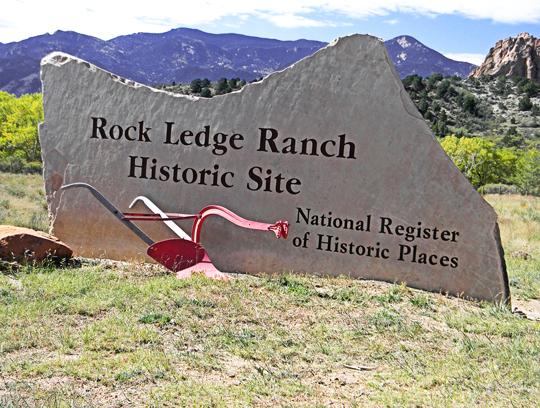Rock Ledge Ranch Historic Site Colorado Springs Metro...