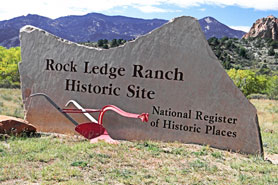 Rock Ledge Ranch Historic Site, Colorado Springs, the cvd