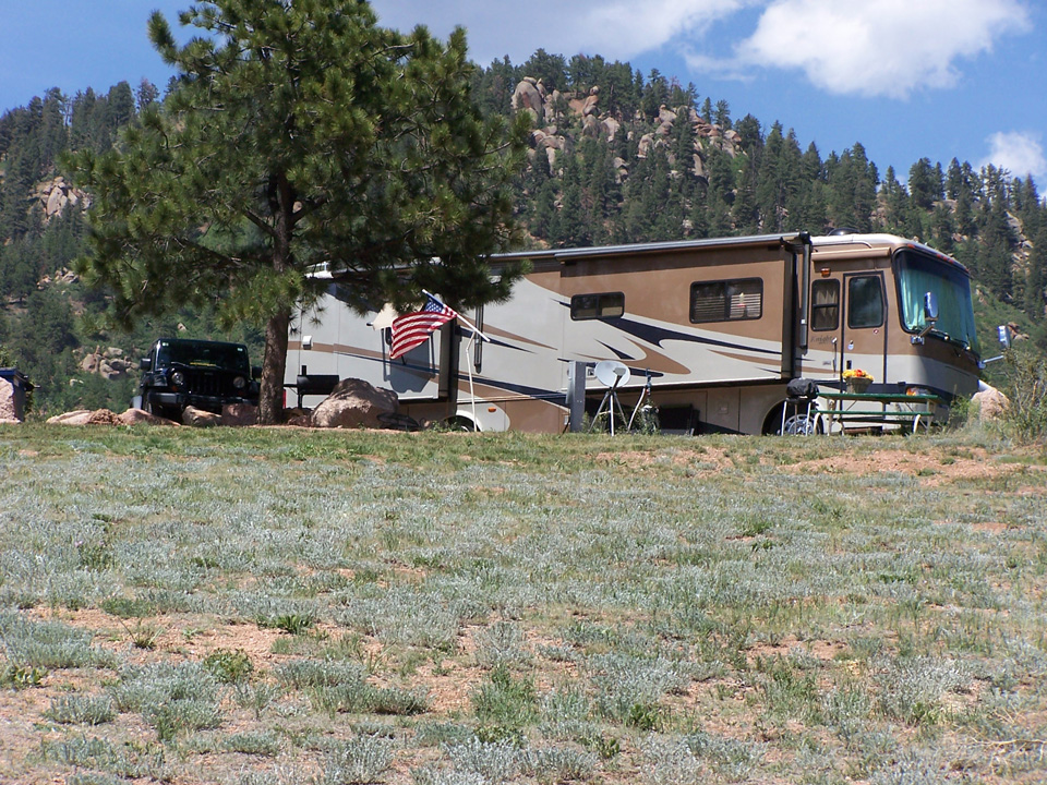 Rocky Top: Motel, RV Park, Campground | Pikes Peak Area, South ...