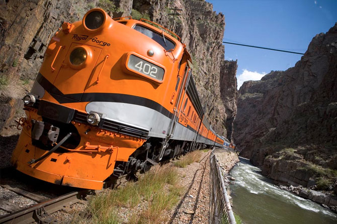 Cañon City and Royal Gorge Route Railroad, Colorado