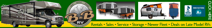 Click here for B&B RV Rentals, Sales & Service in Denver Colorado