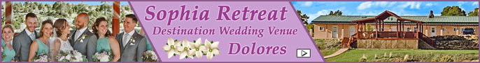 Click here to go to the Sofia Retreat - Destination Wedding Venue page