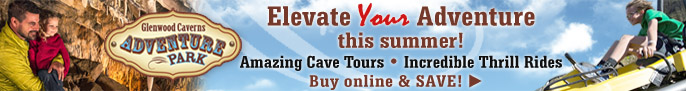 Click here to go to the Glenwood Caverns Adventure Park & Lookout Grille Website