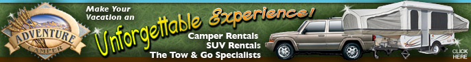 Click here for Adventure Camper, RV Rentals in Denver and Colorado Springs Colorado
