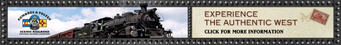Click here to go to the Cumbres & Toltec Scenic Railroad page