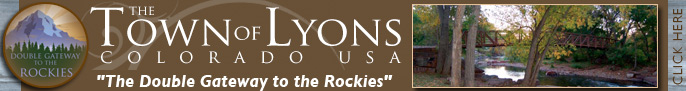 Click here to go to the Town of Lyons Parks & Recreation page