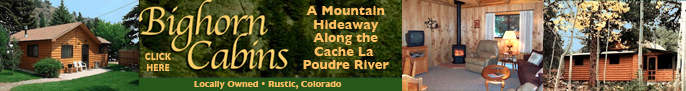 Click here for more information on Bighorn Cabins
