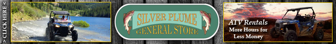 Click here to go to the Silver Plume General Store & The Grill: ATVs Rentals page