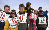 Kids Skiing Competition at Ski Cooper and Chicago Ridge Resort, Leadville, Colorado