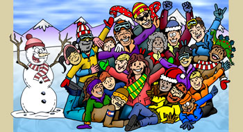 Colorado groups and family reunions illustration