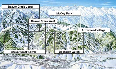 Skiing Colorado Map.Beaver Creek Resort Skiing Snowboarding Colorado Vacation Directory