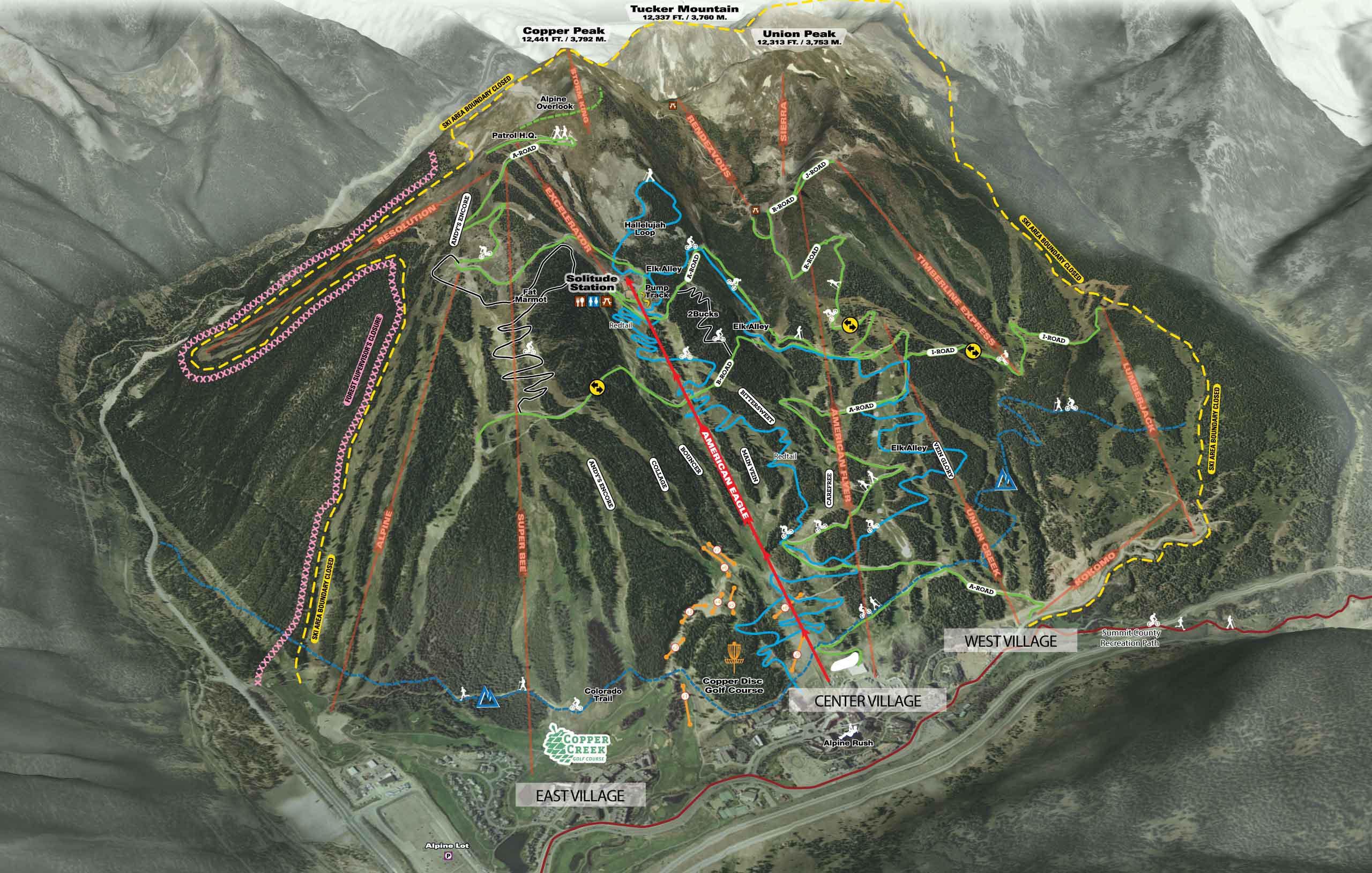Copper Mountain Resort   Skiing Snowboarding   Colorado ...
