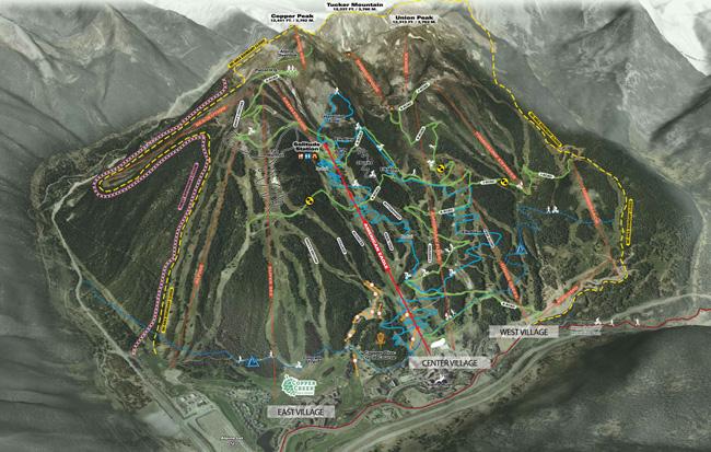 Copper Mountain Resort Skiing Snowboarding Colorado