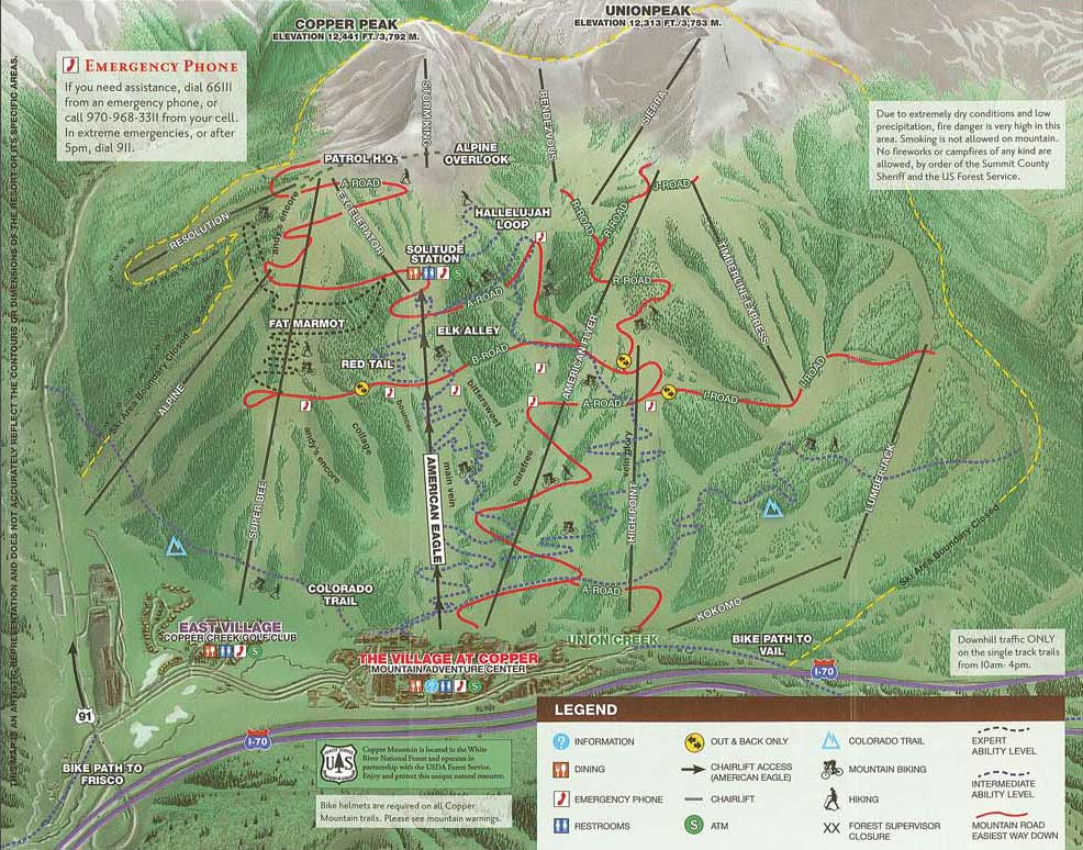 View Large Summer Trails Map