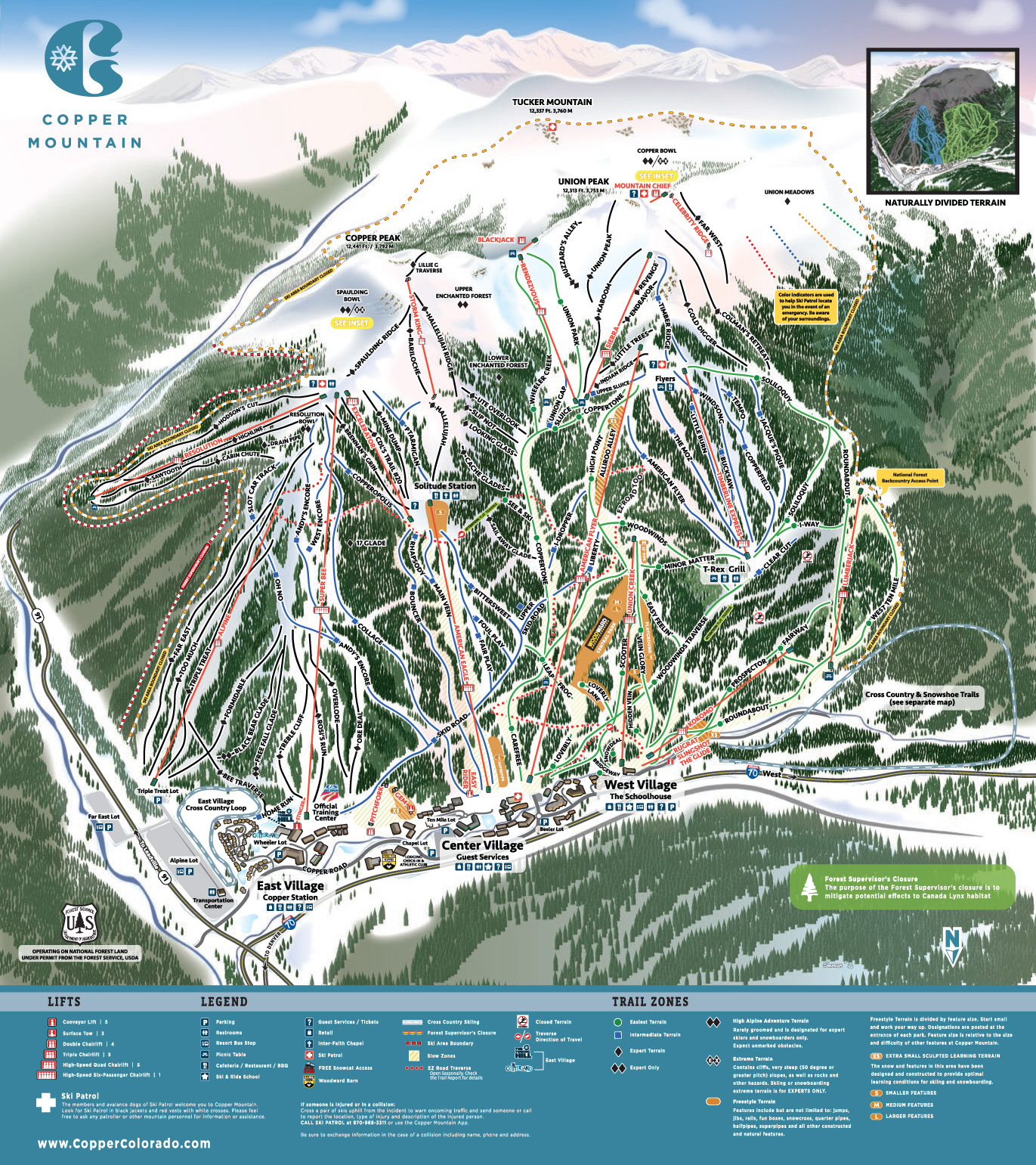 Copper Mountain Resort Skiing Snowboarding Colorado Vacation