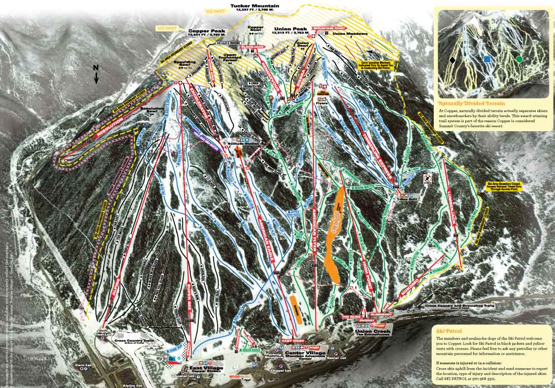 Copper Mountain Resort Skiing Snowboarding Colorado Vacation