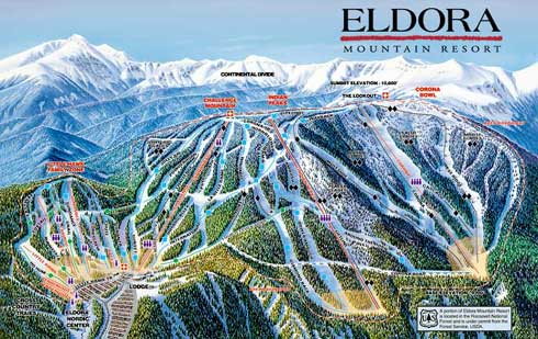 Eldora Mountain Resort Skiing Snowboarding Colorado Vacation