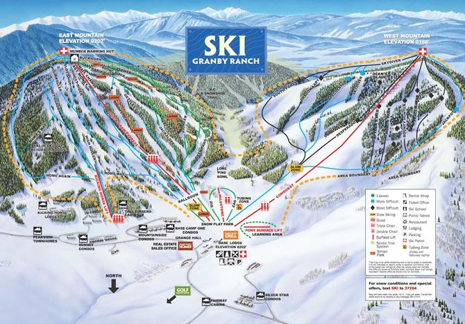 Colorado Springs Ski Resorts Colorado Ski Resort