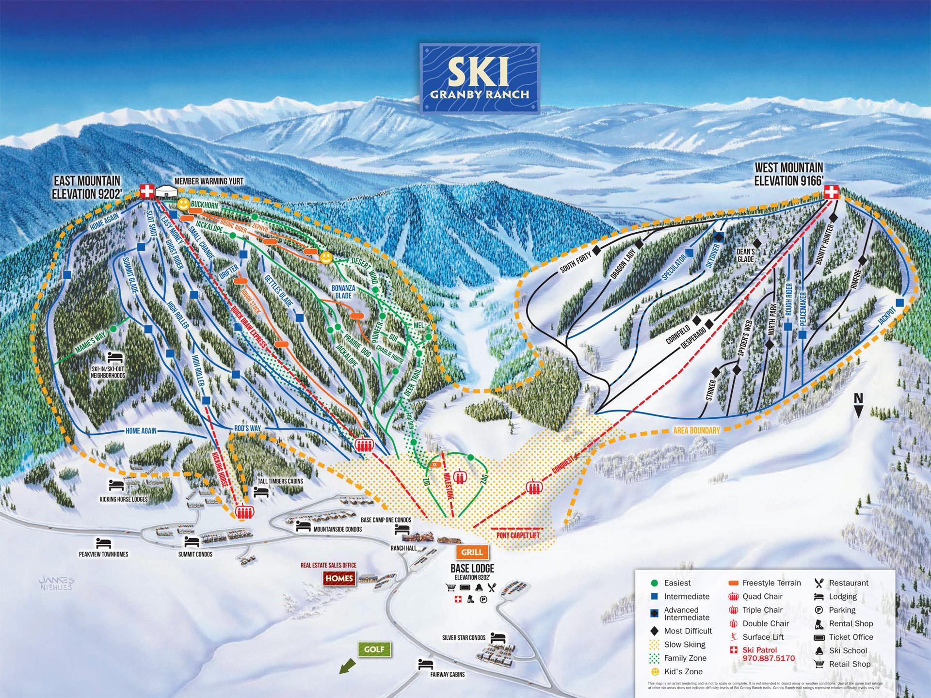 Ski Granby Ranch | Skiing Snowboarding | Colorado Vacation Directory