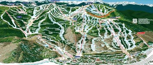 Vail Resort  Skiing Snowboarding  Colorado Vacation Directory
